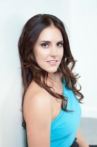 The naturally beautiful Liz Wolfe