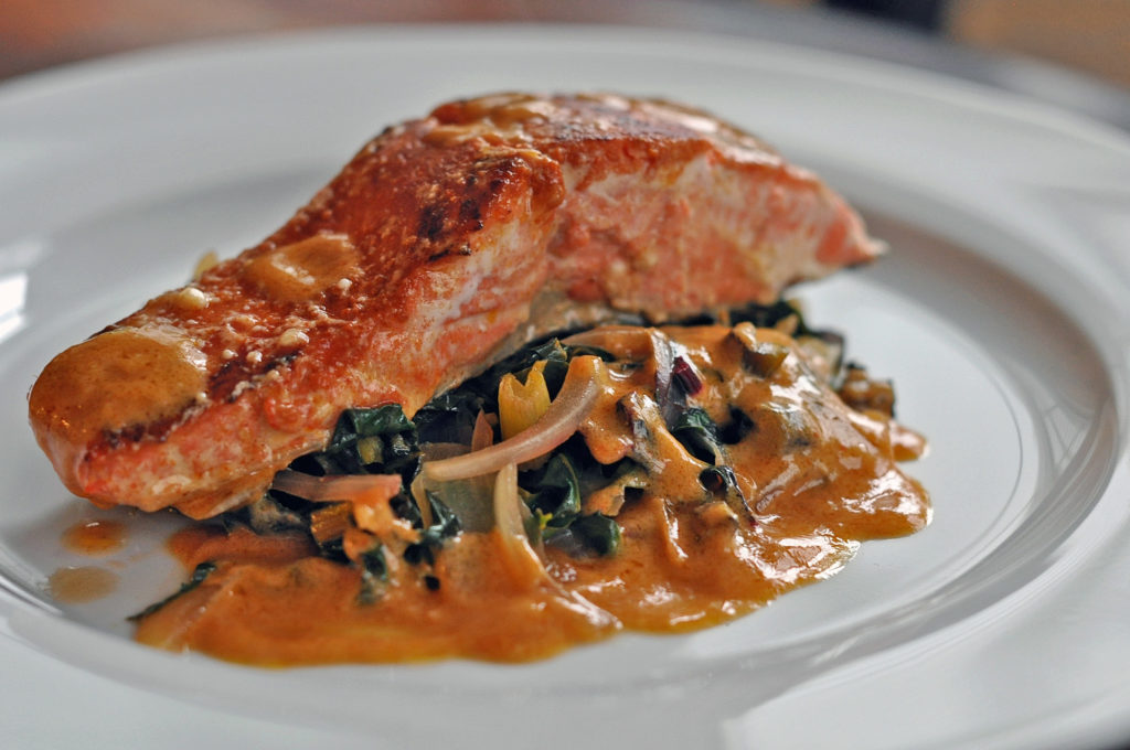 salmon curry