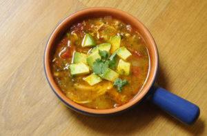 Chicken Tortilla Less Soup-1
